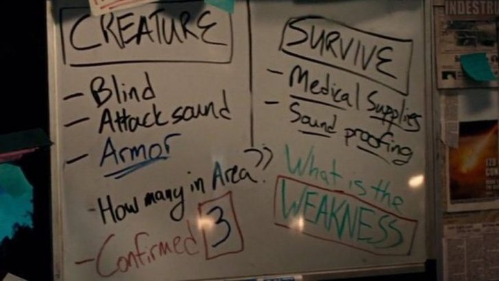 'A Quiet Place Part II' features stunning cameo: The infamous whiteboard