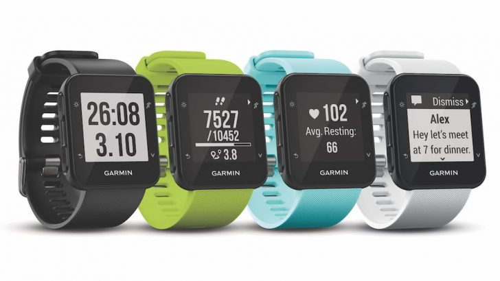 The Garmin Forerunner 35 is a basic GPS watch for the running purist