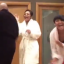 Daughter relieves parents' stress by starting the sweetest dance party